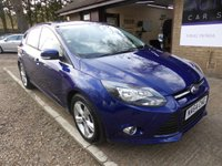 USED 2014 64 FORD FOCUS 1.6 ZETEC TDCI 5d 113 BHP # 1 OWNER FROM NEW # FULL SERVICE HISTORY # £20 ROAD TAX #