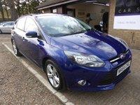 2014 FORD FOCUS 1.6 ZETEC TDCI 5d 113 BHP £7295.00