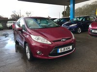 USED 2011 11 FORD FIESTA 1.2 ZETEC 3d 81 BHP NEED FINANCE? WE STRIVE FOR 94% ACCEPTANCE