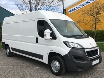 2015 PEUGEOT BOXER 2.2 HDI 335 L3H2 PROFESSIONAL 130 LWB HIGH ROOF VAN DELIVERY T,B,A £8950.00