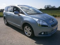 2010 PEUGEOT 5008 2.0 HDI EXCLUSIVE 5d AUTO 163 BHP £7495.00
