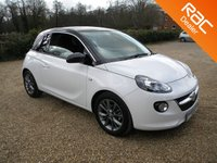 USED 2016 16 VAUXHALL ADAM 1.2 JAM 3d 69 BHP Bluetooth, Alloy Wheels. Tinted Windows