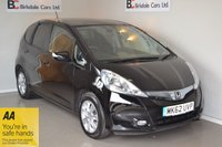 USED 2012 62 HONDA JAZZ 1.3 IMA HS 5d AUTO 102 BHP Immaculate - One Private Owner - Full Honda Dealership Service History - Air Conditioning - Alloy Wheels - Must Be Seen