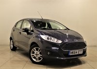 USED 2015 64 FORD FIESTA 1.2 ZETEC 5d 81 BHP + 1 OWNER + AIR CON + AUX + BLUETOOTH