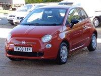 2008 FIAT 500 1.2 POP 3d 69 BHP £2999.00
