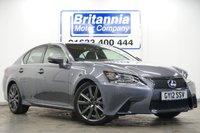 2012 LEXUS GS 3.5 450H HYBRID F SPORT AUTOMATIC 345 BHP £18990.00