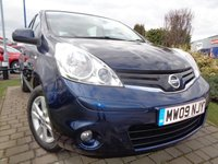 USED 2009 09 NISSAN NOTE 1.6 ACENTA 5d AUTO 110 BHP **Ideal Small Automatic Full History 6 Stamps 12 Months Mot**