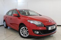 USED 2013 63 RENAULT MEGANE 1.5 DYNAMIQUE TOMTOM ENERGY DCI S/S 5DR 110 BHP SERVICE HISTORY + SAT NAVIGATION + PARKING SENSOR + BLUETOOTH + CRUISE CONTROL + RADIO/CD + AIR CONDITIONING + 16 INCH ALLOY WHEELS