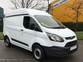 2015 FORD TRANSIT CUSTOM 2.2TDCi 100 270 L1 HIGH ROOF [ Low mileage 24k ] van Free UK Delivery £12950.00