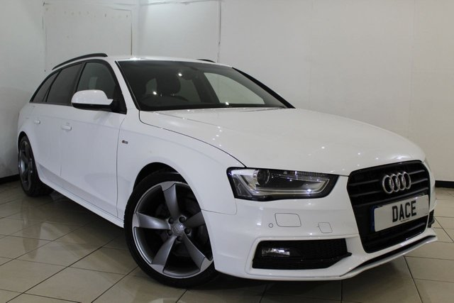 View our 2014 14 AUDI A4 2.0 AVANT TDI S LINE BLACK EDITION 5DR 174 BHP