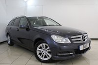 USED 2013 13 MERCEDES-BENZ C CLASS 2.1 C220 CDI BLUEEFFICIENCY EXECUTIVE SE 5DR AUTOMATIC 168 BHP HEATED LEATHER SEATS + SAT NAVIGATION + CRUISE CONTROL + PARKING SENSOR + MULTI FUNCTION WHEEL + 19 INCH ALLOY WHEELS