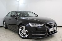 USED 2015 15 AUDI A6 2.0 TDI ULTRA S LINE 4DR 188 BHP FULL AUDI SERVICE HISTORY + HEATED LEATHER SEATS + SAT NAVIGATION + PARKING SENSOR + BLUETOOTH + CRUISE CONTROL + MULTI FUNCTION WHEEL + 18 INCH ALLOY WHEELS