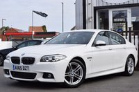 USED 2015 65 BMW 5 SERIES 2.0 520D M SPORT 4d AUTO 188 BHP SUPERB CONDITION CAR WITH GREAT MILEAGE AND PLENTY OF FEATURES