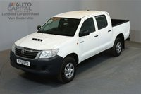 USED 2013 13 TOYOTA HI-LUX 2.5 HL2 4X4 142 BHP MWB A/C ONE OWNER FROM NEW, FULL SERVICE HISTORY