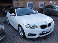 2018 BMW 2 SERIES 2.0 220I M SPORT 2d AUTO 181 BHP £24995.00