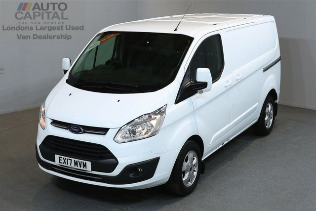 2017 17 FORD TRANSIT CUSTOM 2.0 270 LIMITED 129 BHP L1 H1 SWB LOW ROOF A/C E6 LOW MILEAGE, EURO 6 ENGINE, MANUFACTURE WARRANTY UNTIL 29/02/2020