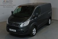 USED 2017 17 FORD TRANSIT CUSTOM 2.0 290 LIMITED 129 BHP L1 H1 SWB LOW ROOF A/C E6 ONE OWNER, SERVICE HISTORY, MANUFACTURER WARRANTY UNTIL 8/03/2020