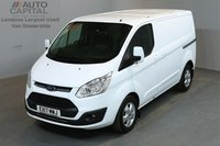 USED 2017 17 FORD TRANSIT CUSTOM 2.0 270 LIMITED 129 BHP L1 H1 SWB LOW ROOF A/C E6 ONE OWNER, MANUFACTURER WARRANTY UNTIL 29/02/2020