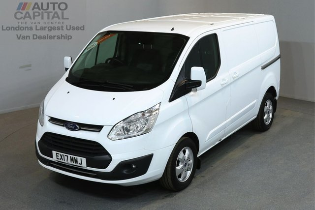 2017 17 FORD TRANSIT CUSTOM 2.0 270 LIMITED 129 BHP L1 H1 SWB LOW ROOF A/C E6 ONE OWNER, MANUFACTURER WARRANTY UNTIL 29/02/2020
