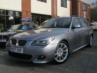 USED 2007 07 BMW 5 SERIES 2.5 525D M SPORT TOURING 5d 175 BHP