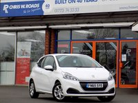 USED 2015 65 PEUGEOT 208 1.2 ACTIVE 3dr  ** Only 14000 miles **