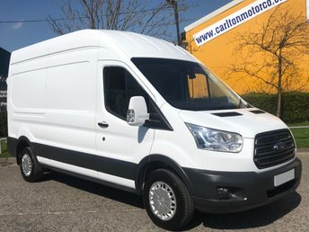 2015 FORD TRANSIT 2.2 350 TREND L3 H3 [ NO VAT TO PAY ] HIGH ROOF VAN RWD DELIVERY T,B,A £11950.00