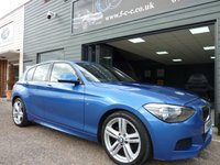 2014 BMW 1 SERIES 2.0 120D M SPORT 5d AUTO 181 BHP £13995.00