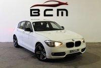 2012 BMW 1 SERIES 2.0 116D SPORT 5d 114 BHP £SOLD