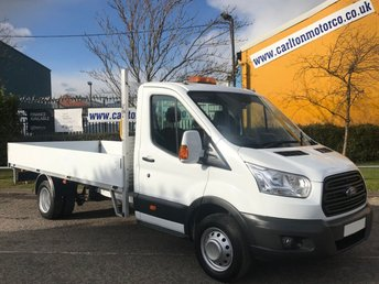 2014 FORD TRANSIT 350 LWB Dropside 13.6ft Alloy Body 2.2TDCi 125 DRW Free UK Delivery £12950.00