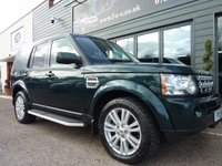 2013 LAND ROVER DISCOVERY 4 3.0 4 SDV6 COMMERCIAL 1d AUTO 255 BHP £22750.00