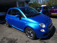 USED 2015 15 FIAT 500 1.2 S (SPORT) 3d 69 BHP Just Serviced by ourselves, One Previous Owner, MOT until April 2019 (no advisories), Great on fuel economy! Only £30 Road Tax!