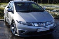 USED 2008 08 HONDA CIVIC 2.2 I-CDTI TYPE-S 3d 139 BHP TRENDY COUPE*** £0 DEPOSIT FINANCE