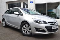 USED 2014 14 VAUXHALL ASTRA 1.3 DESIGN CDTI ECOFLEX S/S 5d 95 BHP LOW MILEAGE ESTATE+SATELLITE NAVIGATION