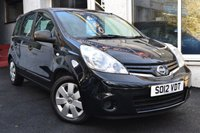 USED 2012 12 NISSAN NOTE 1.5 DCI VISIA 90 BHP VERY LOW MILEAGE+£20 ROAD TAX