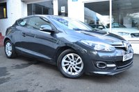 USED 2014 14 RENAULT MEGANE 1.5 DYNAMIQUE TOMTOM ENERGY DCI S/S 3d 110 BHP ZERO ROAD TAX+GREAT MPG