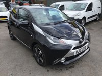 2015 TOYOTA AYGO 1.0 VVT-I X-CLUSIV 5 DOOR 69 BHP IN BLACK WITH 43000 MILES  £6290.00