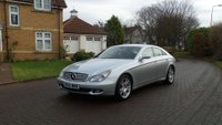 USED 2006 56 MERCEDES-BENZ CLS CLASS 3.0 CLS320 CDI 4d AUTO 222 BHP MOT March 2019 ++  FULL LEATHER TRIM +   PARKING SENSORS +  2 PREVIOUS KEEPERS +