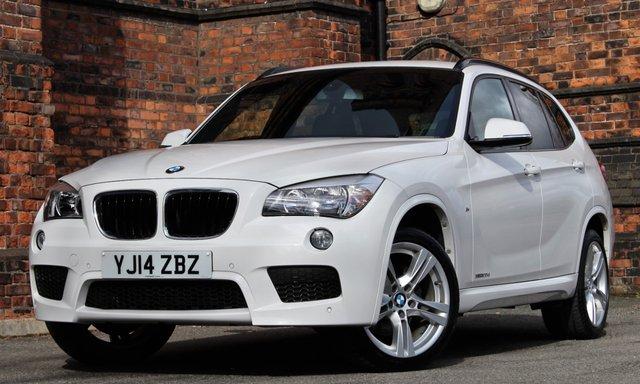 2014 14 BMW X1 2.0 XDRIVE20D M SPORT 5d AUTO 181 BHP