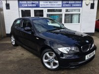 USED 2011 11 BMW 1 SERIES 2.0 116I SPORT 3d 121 BHP I32K FSH 2 OWNERS *6SPD* 17' ALLOYS* VOICE* EXCELLENT CONDITION