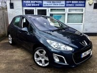 USED 2012 62 PEUGEOT 308 1.6 ALLURE 5d 120 BHP 44K 1FAMILY OWNER *PAN ROOF* 1/2LEATHER* CRUISE* HIGH SPEC MODEL