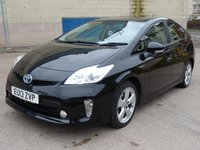 USED 2013 13 TOYOTA PRIUS 1.8 T4 VVT-I 5d AUTO 99 BHP MOT MARCH 2019 (NO ADVISORY) ++  FULL MAIN DEALER SERVICE RECORD ( 7 STAMPS) +  1 OWNER FROM NEW ++