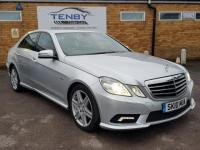 USED 2010 10 MERCEDES-BENZ E CLASS 3.0 E350 CDI BLUEEFFICIENCY SPORT 4d 231 BHP