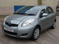 USED 2009 09 TOYOTA YARIS 1.4 TR D-4D 5d 89 BHP FULL SERVICE RECORD (7 STAMPS) ++  1 PREVIOUS KEEPER +   AUX CONNECTION  ++  MOT NOVEMBER 2018 ++