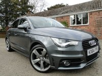 2014 AUDI A1 1.4 TFSI 185ps Black Edition Sportback S-Tronic 5dr £14595.00