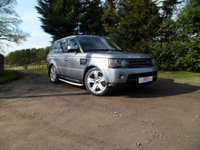 USED 2012 61 LAND ROVER RANGE ROVER SPORT 3.0 SDV6 SE 5d AUTO 255 BHP FANTASTIC CONDITION. POWER BOOT. NAV. REAR CAMERA. SDV6 MODEL. 8 SPEED GEARBOX