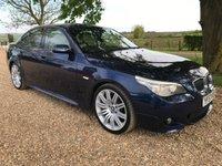 2008 BMW 5 SERIES 3.0 530I M SPORT 4d AUTO 269 BHP £6590.00
