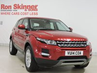 USED 2014 14 LAND ROVER RANGE ROVER EVOQUE 2.2 ED4 PURE 5d 150 BHP