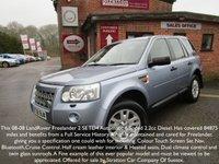 2008 LAND ROVER FREELANDER 2 2.2 TD4 SE 5d AUTO 159 BHP £7695.00