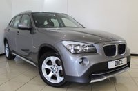 USED 2011 11 BMW X1 2.0 XDRIVE18D SE 5DR 141 BHP SERVICE HISTORY + PARKING SENSOR + MULTI FUNCTION WHEEL + CLIMATE CONTROL + RADIO/CD + AUXILIARY PORT + 17 INCH ALLOY WHEELS