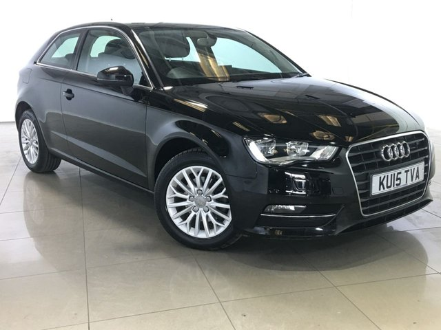 View our 2015 15 AUDI A3 1.6 TDI SE TECHNIK 3d 109 BHP